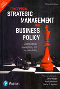 Concepts in Strategic Management and Business Policy Globalization Innovation and Sustainability