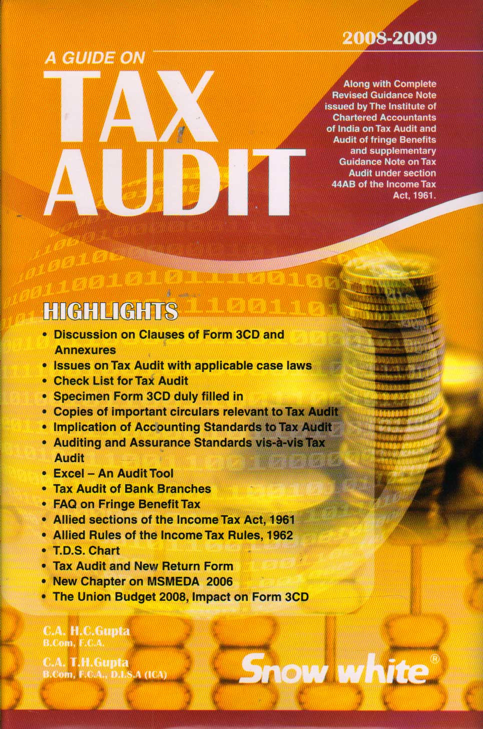 A Guide on Tax Audit 2008-09