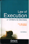 Law of Execution of Orders and Decresses