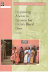 Improving Access to Finance for Indias Rural Poor