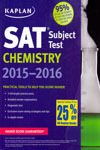 SAT Subject Test Chemistry 2015-2016