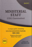 Ministerial Staff UDCs Examination Alongwith Referencer