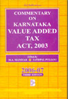 Commentary on Karnataka Value Added Tax Act 2003
