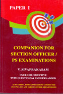 Companion For Section Officers P S Examinations