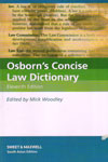 Osborns Concise Law Dictionary