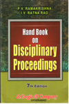 Hand Book on Disciplinary Proceedings