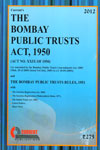 The Bombay Public Trusts Act 1950
