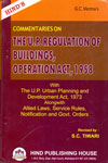 Commentaries On The U P Regulation Of Buildings Operation Act 1958