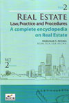 Real Estate Law Practice and Procedures a Complete Encyclopedia on  Real Estate In 3 Volume