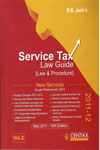 Service Tax Law Guide Law and Procedure In 2 Vol