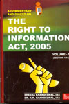 A Commentary And Digest On The Right to Information Act, 2005 In 2 Vol.