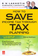 How to Save Income Tax Through Tax Planning Assessment Year 2018-19