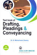 Text Book of Drafting Pleadings and Conveyancing