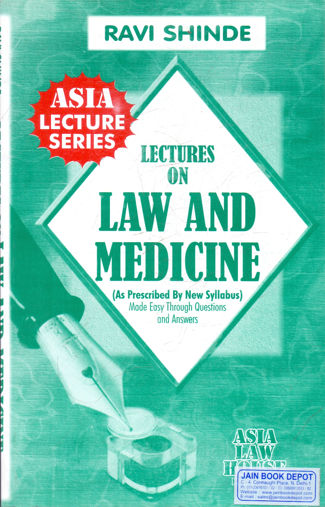 Lectures on Law and Medicine