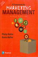 A Framework For Marketing Management