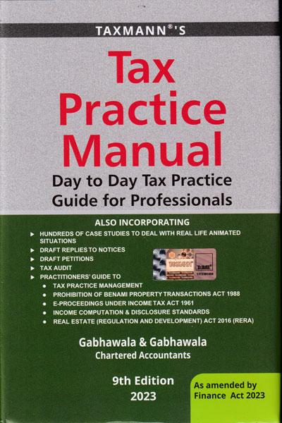 Tax Practice Manual