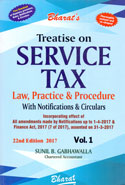 Treatise on Service Tax Law Practice and Procedure With Notifications and Circulars In 2 Vols
