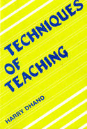 Techniques of Teaching