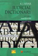 Judicial Dictionary In 2 Vols