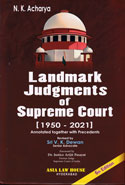 Landmark Judgments of Supreme Court 1950 to 2014