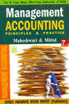 Management Accounting Principles and Practice