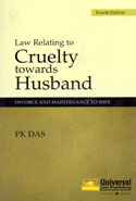 Law Relating to Cruelty Towards Husband Divorce and Maintenance to Wife