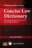 Concise Law Dictionary With Legal Maxims Latin Terms and Words and Phrases