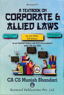 A Handbook on Corporate and Allied Laws for CA Final November 2017 Exams