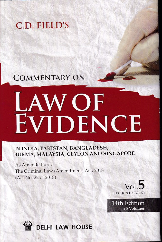 Commentary on Law of Evidence In 5 Vols
