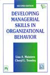 Developing Managerial Skills in Organizational Behavior