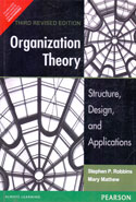 Organization Theory Structure Design and Applications