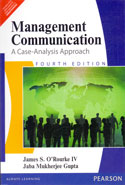 Management Communication a Case Analysis Approach