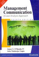Management Communication A Case Analysis Approach