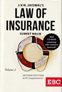 Law of Insurance In 2 Vols