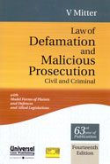 Law of Defamation and Malicious Prosecution Civil and Criminal
