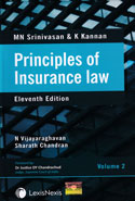 Principles of Insurance Law In 2 Vols