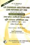 U P Zamindari Abolition and Land Reforms Act 1950 In Diglot Edition