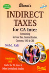 Indirect Taxes for CA Inter Containing Service Tax Central Excise Customs VAT and CST