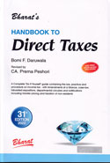 Handbook to Direct Taxes With Special Chapter on Service Tax