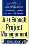 Just Enough Project Management