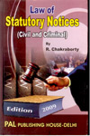 Law of Statutory Notices (Civil and Criminal)