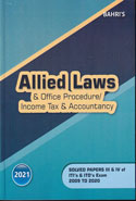 Allied Laws and Office Procedure Income Tax and Accountancy Solved Papers 2009 to 2018 With Referencer