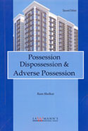 Possession Dispossession and Adverse Possession