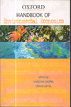 Handbook of Environmental Economics in India