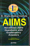 AIIMS November 2009 Questions with Explanatory Answers