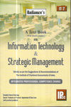 A Text Book on Information Technology and Strategic Management