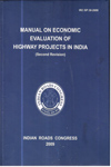 IRC SP 30 2009 Manual on Economic Evaluation of Highway Projects in India