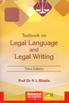 Textbook on Legal Language and Legal Writing