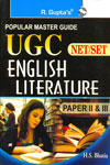 UGC Net/SET English Literature Paper II and III