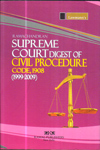 Supreme Court Digest of Civil Procedure Code 1908